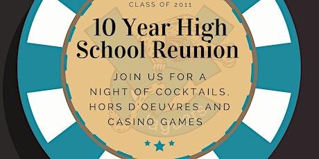 VCHS 2011 Class 10 Year High School Reunion tickets