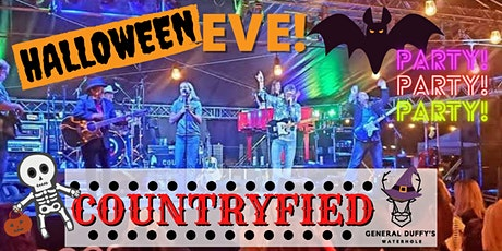 COUNTRYFIED HALLOWEEN EVE COSTUME PARTY tickets