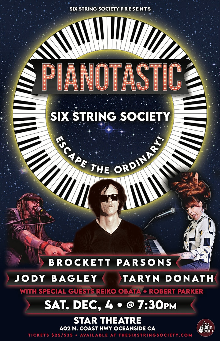 Pianotastic! A Six String Society production image