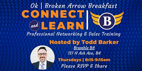 OK | Broken Arrow Breakfast - Networking and Sales Training tickets