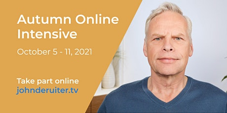Autumn Online Intensive with John de Ruiter tickets