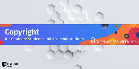 Copyright for Graduate Students and Academic Authors tickets