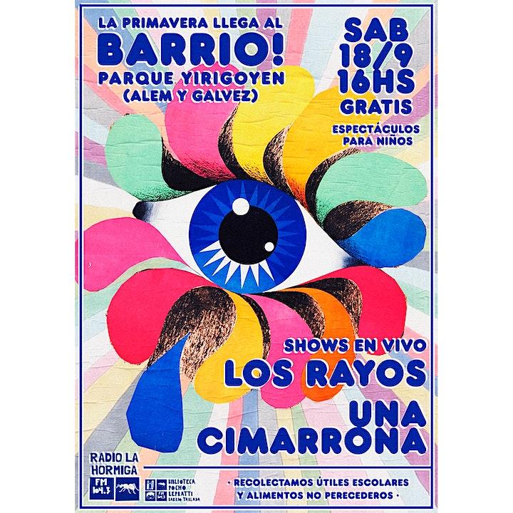 Imagen de La Primavera llega al Barrio - Parque Yirigoyen Rosario