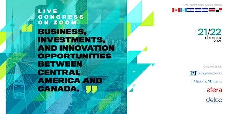 Business, Investments and Innovation Opportunities (Central America-Canada) tickets