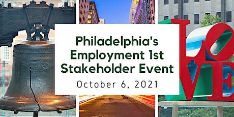 Philadelphia's Employment Stakeholder Event tickets