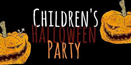 WEDNESDAY -  CHILDREN'S HALLOWEEN PARTY tickets