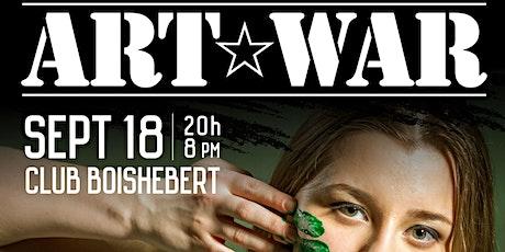 Art War tickets