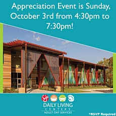 Daily Living Centers Appreciation Event tickets