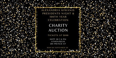 Presidents Night and Centennial Charity Gala tickets
