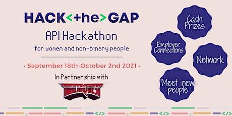 API Hackathon tickets