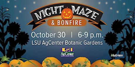Night Maze at Burden tickets