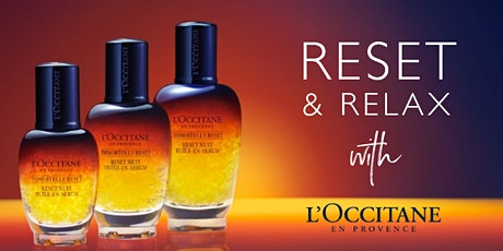 Reset & Relax with L'OCCITANE - Belfast tickets
