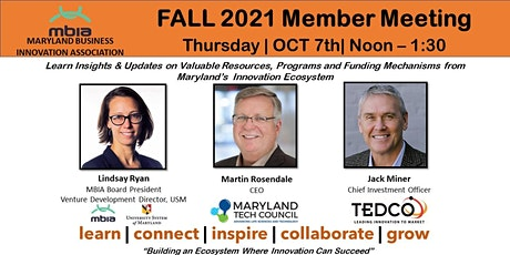 MBIA OCT 7th Member Meeting tickets