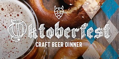 Oktoberfest Craft Beer Dinner tickets