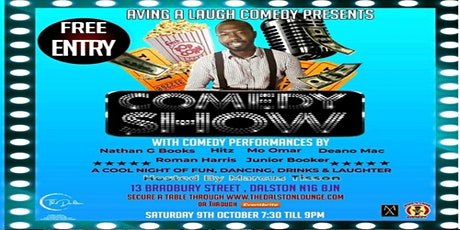 Aving A Laugh Comedy  Show tickets