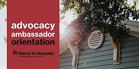 Advocacy Ambassador Orientation - Session II tickets