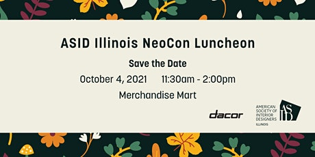 ASID Illinois NeoCon Luncheon tickets
