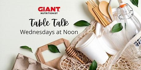 VIRTUAL October: Table Talk tickets