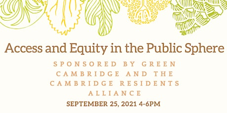 Improving Cambridge: Access and Equity in the Public Sphere tickets