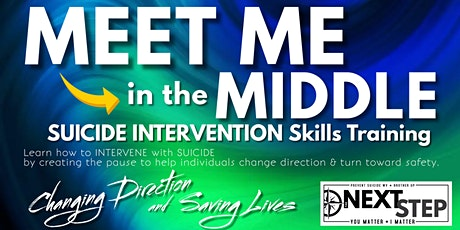 MEET ME in the MIDDLE - Suicide Intervention Skills - SEPTEMBER 2021 tickets