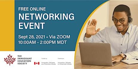 Online Networking Event - Meet Employers in Alberta! tickets