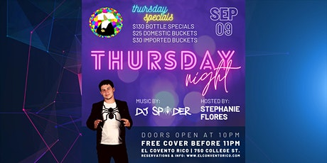 Thursday Nights at El Convento Rico tickets