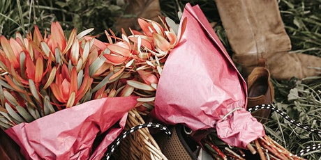 Waratah Cottage Collective Flowerpickin, wine tasting walk and long lunch tickets