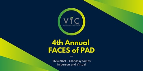 4th Annual FACES of PAD Conference tickets