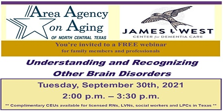 Understanding and Recognizing Other Brain Disorders tickets