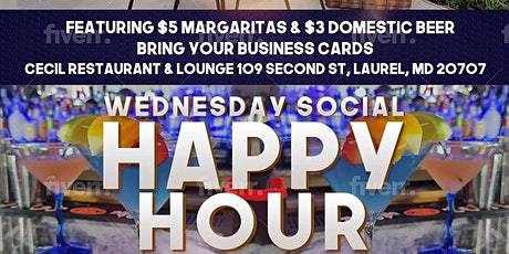 SOCIAL WENESDAYS  HAPPY HOUR tickets