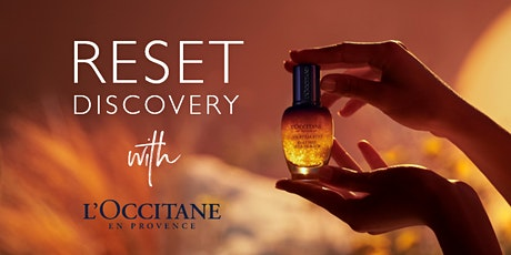 Reset Discovery with L'OCCITANE - Meadowhall tickets