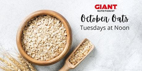 VIRTUAL October: October Oats tickets