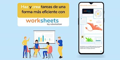 Worksheets by Edvolution boletos