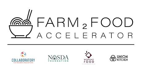 Farm2Food Accelerator Info Session #1 tickets