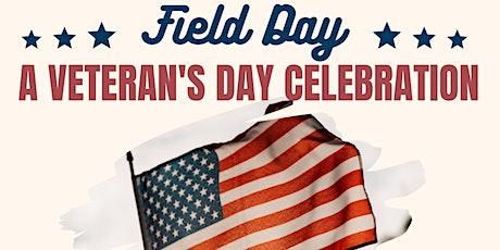 Field Day at SVB - A Veteran's Day Celebration tickets