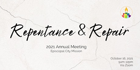 Episcopal City Mission - 2021 Annual Meeting tickets