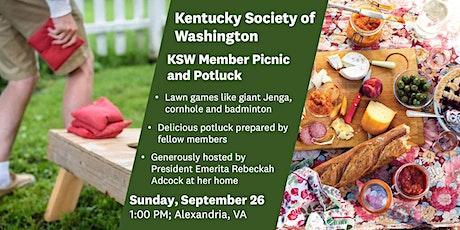 KSW Membership Picnic and Potluck tickets