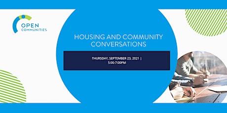 Housing & Community Conversations tickets