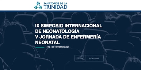 IX SIMPOSIO INTERNACIONAL DE NEONATOLOGIA - V JORNADAS ENFERMERIA NEONATAL entradas