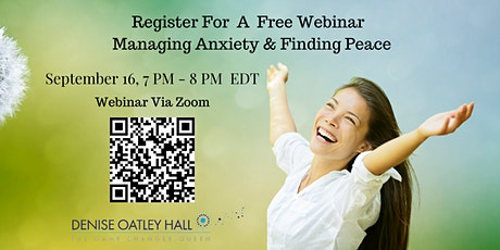 Manage Anxiety-Find Peace tickets