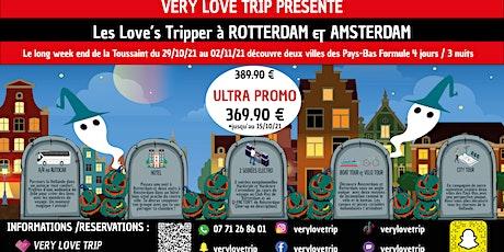 Week-End à Rotterdam & Amsterdam du 29 octobre au 02 novembre 2021 billets