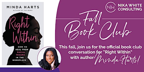 Official Book Club Conversation with Minda Harts, Author of Right Within tickets