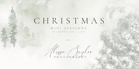 Tuesday, December 7th  - Christmas Mini Sessions tickets