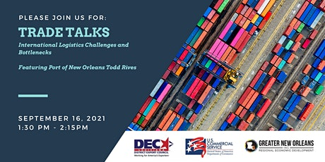 LDEC Trade Talks: International Logistics Challenges and Bottlenecks tickets