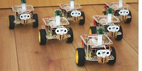 Programmierkurs mit fahrbaren Robotern Tickets