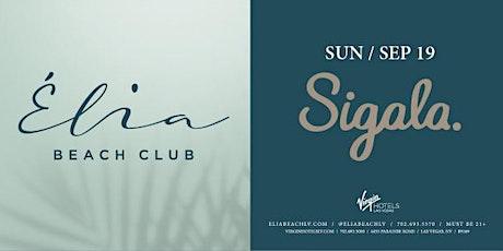 Sigala - Elia Beach Club tickets