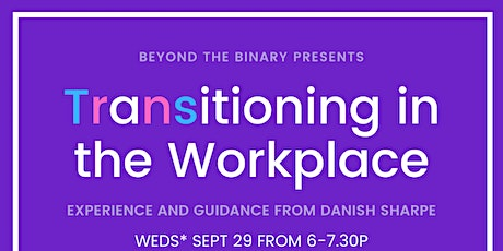 Transitioning in the Workplace tickets