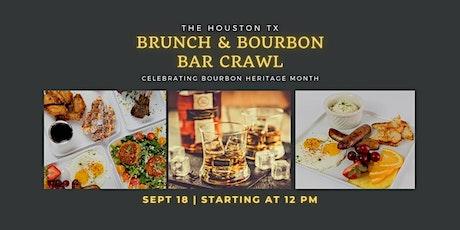 The  Houston  Bourbon  Brunch  &  Bar Crawl tickets