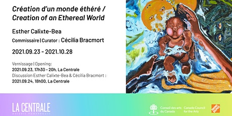 Création d'un monde éthéré, Esther Calixte-Bea, Cécilia Bracmort billets
