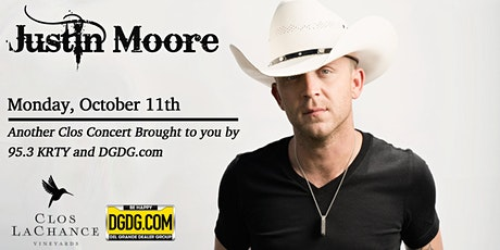 95.3 KRTY and DGDG.com Present 6th Annual Justin Moore Acoustic Show tickets